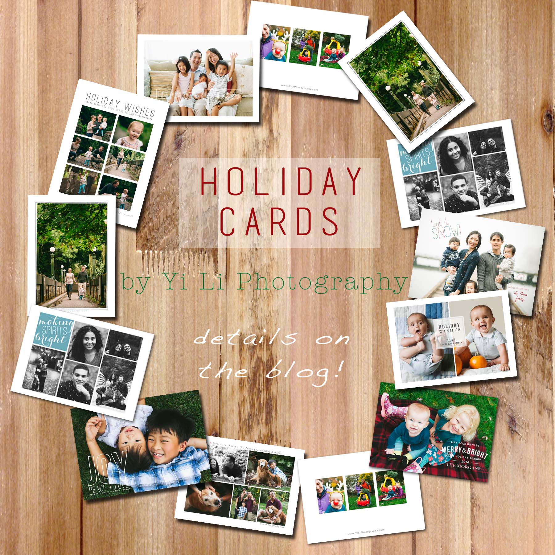 Greeting cards have all been sent {Holiday cards 2014!!!}