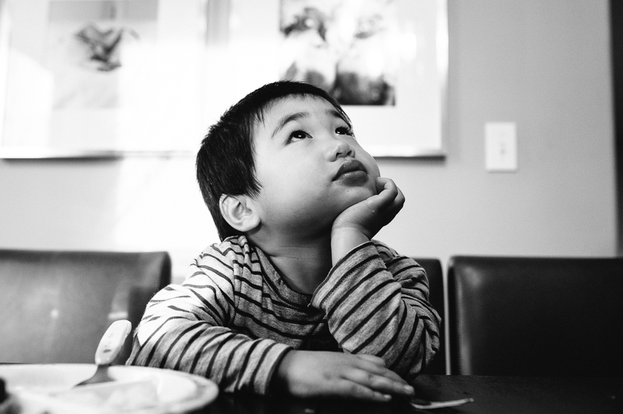 {Seattle documentary family photography} At our table