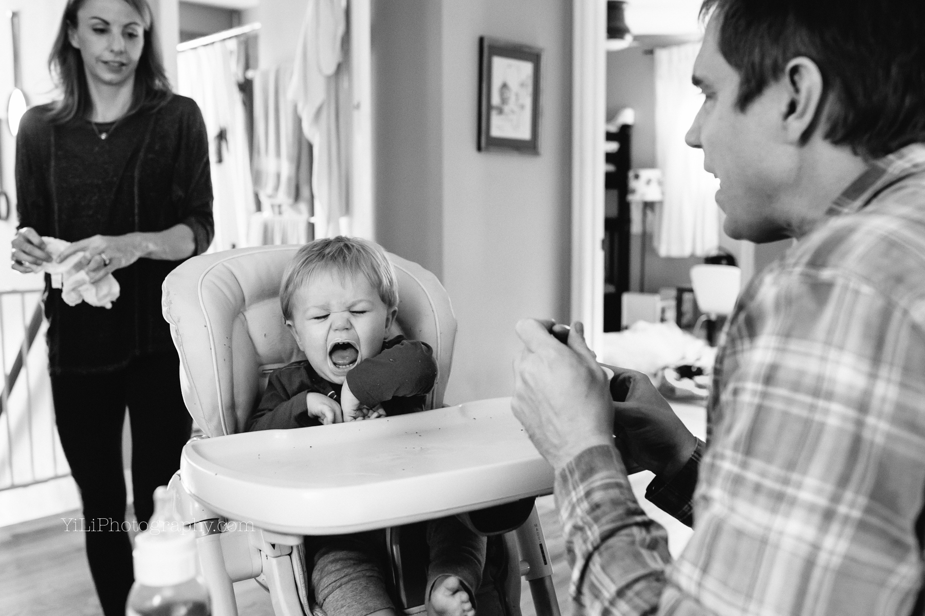 {Seattle documentary family photographer} Markles at home