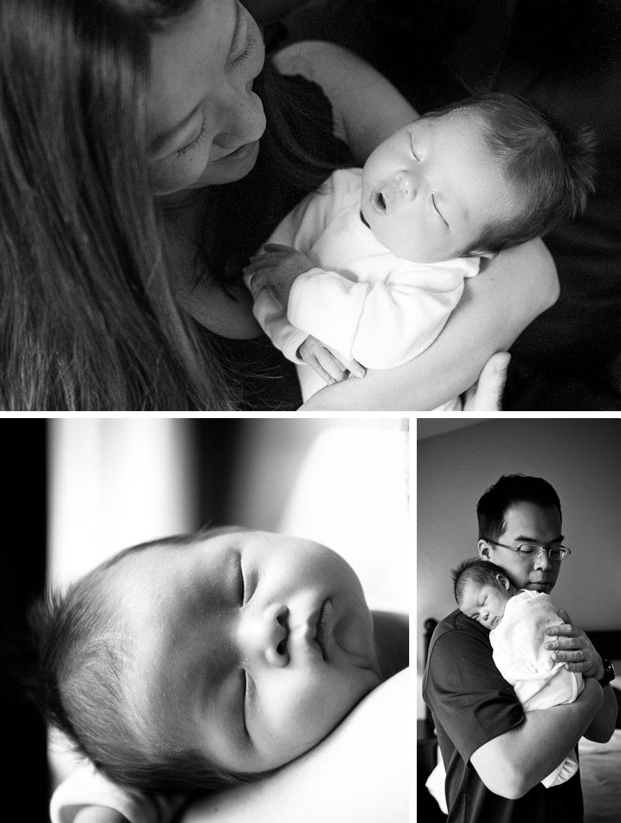Becoming a big brother {Bellevue newborn photographer, big