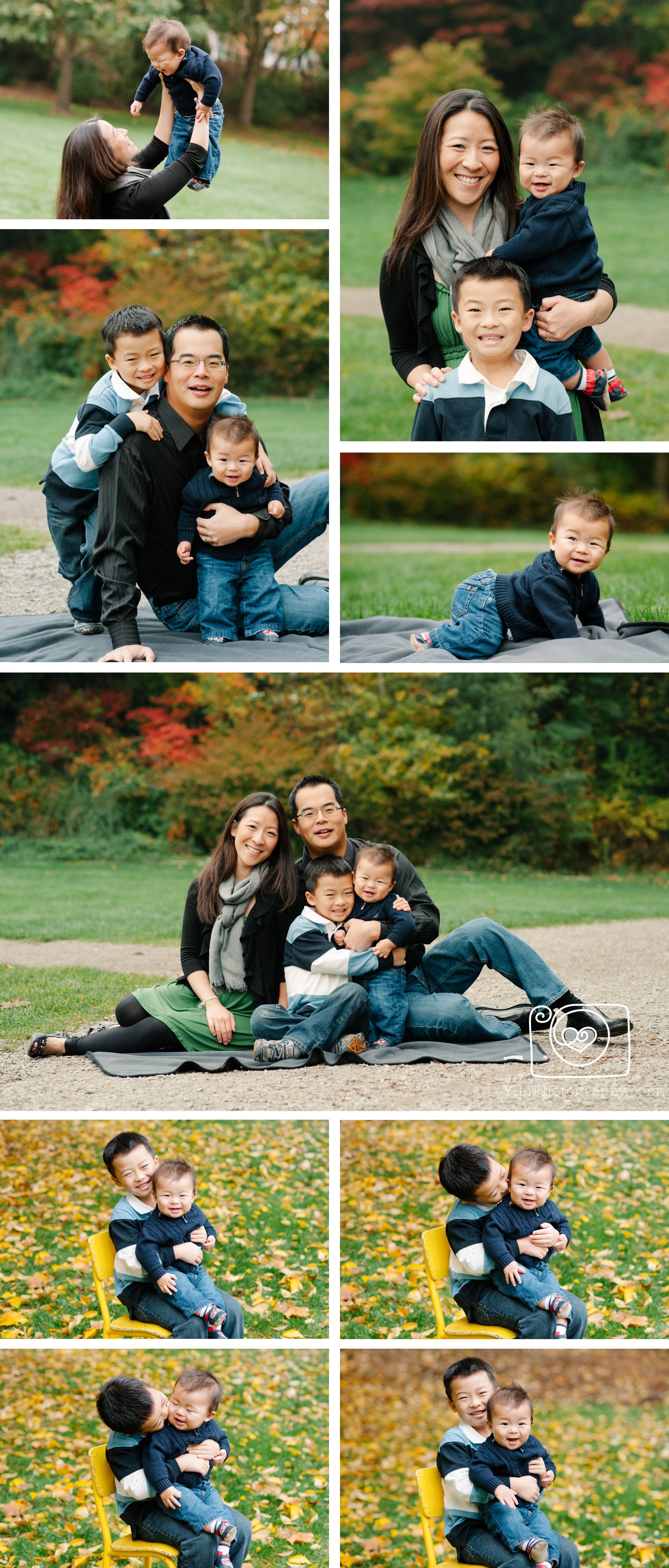Seattle family photographer, Seattle kids photographer, Cowan Park