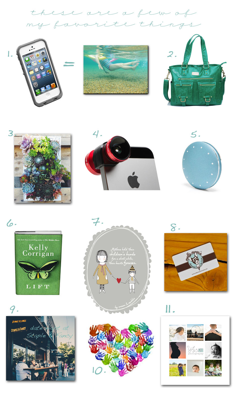 Mother's day gift guide | Yi Li Photography