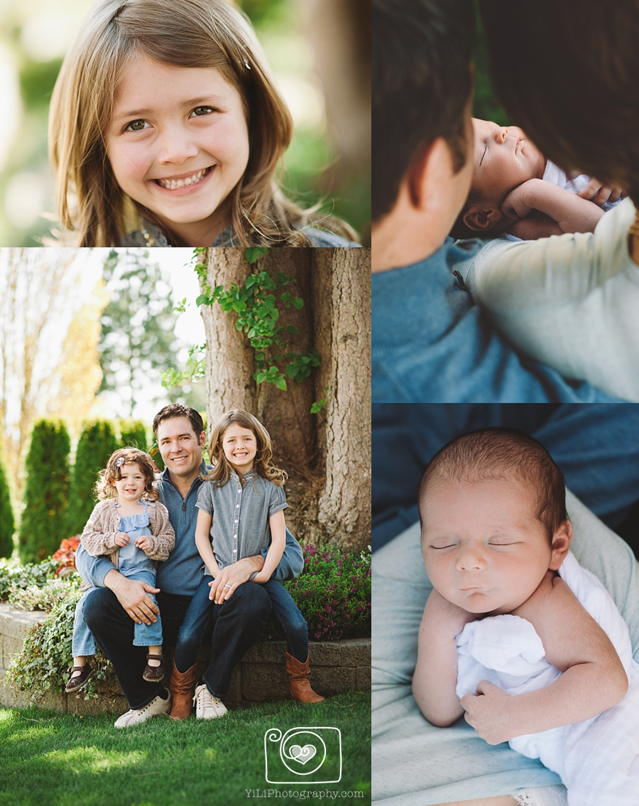 bellevue outdoor family portraits
