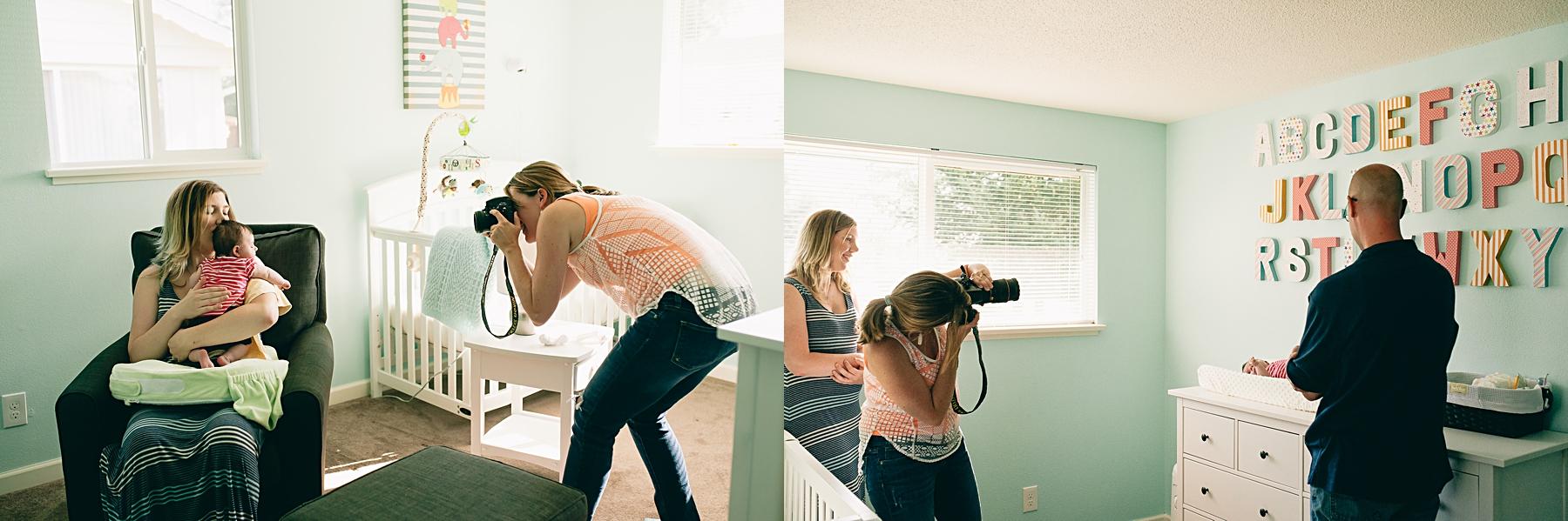 seattle lifestyle baby photographer