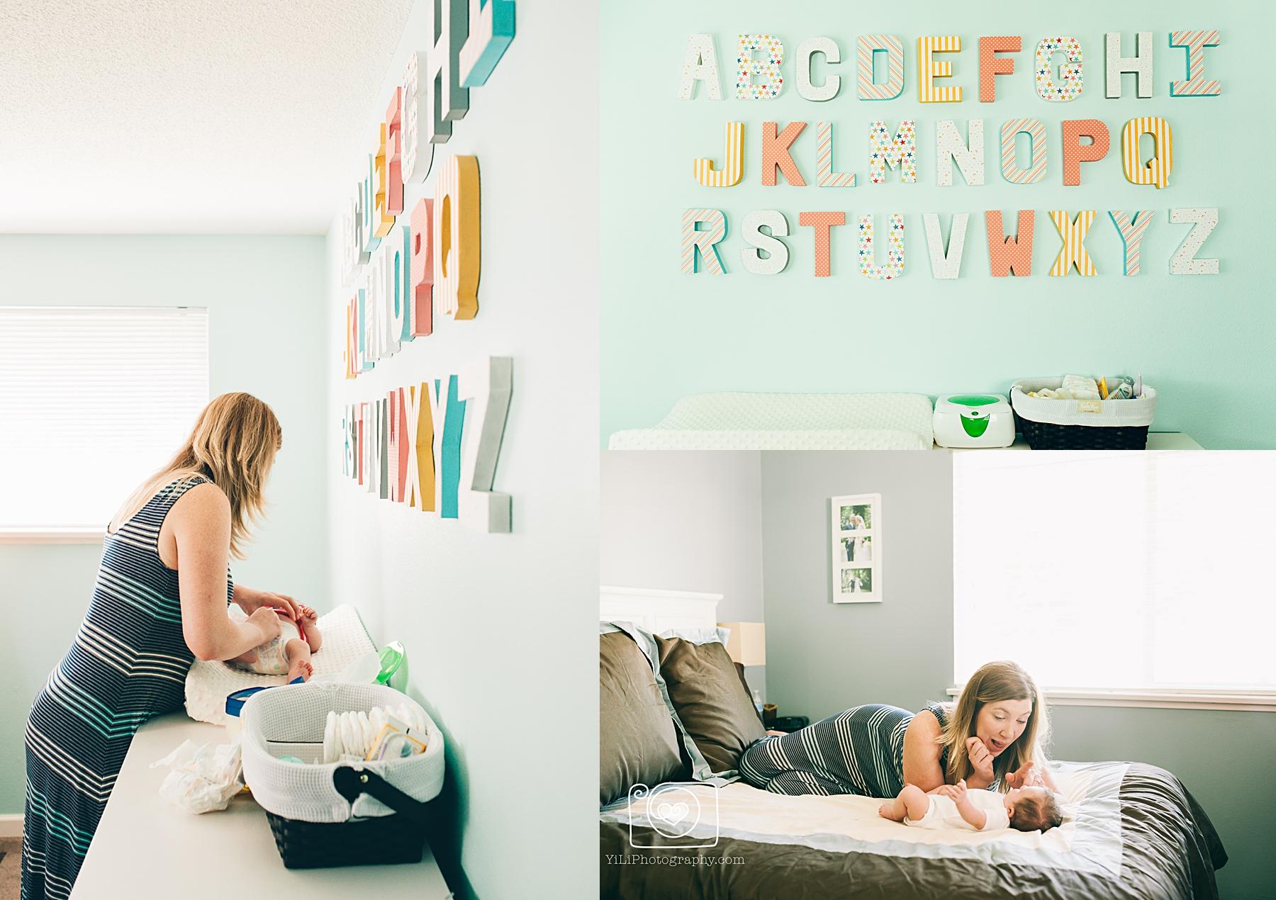 seattle lifestyle newborn photos