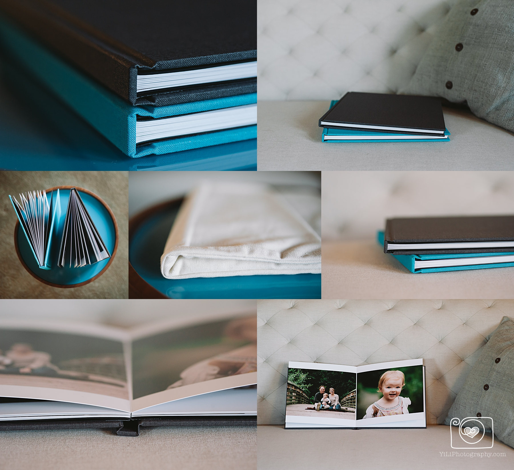 seattle family photographer album design