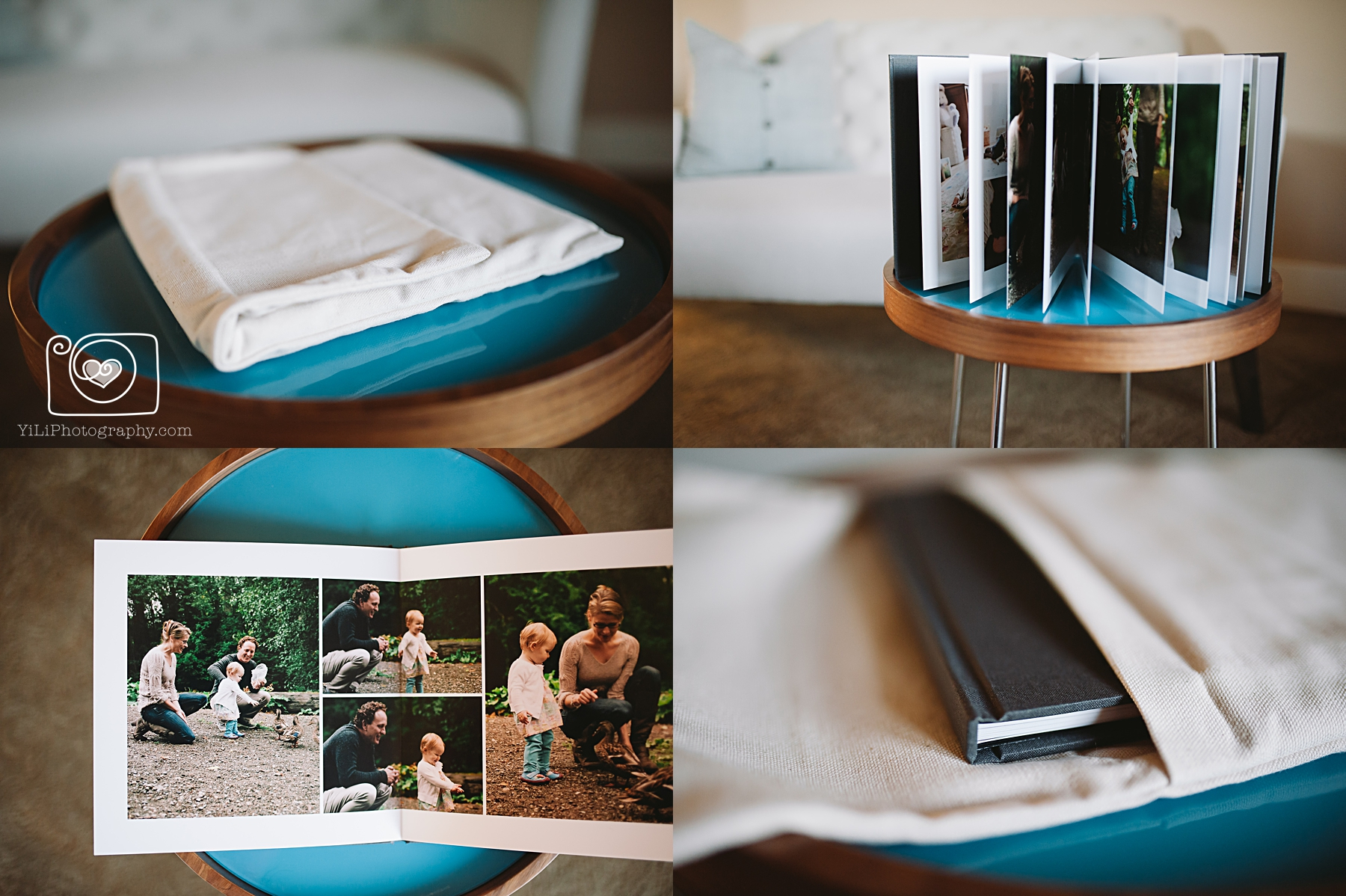 seattle family album design
