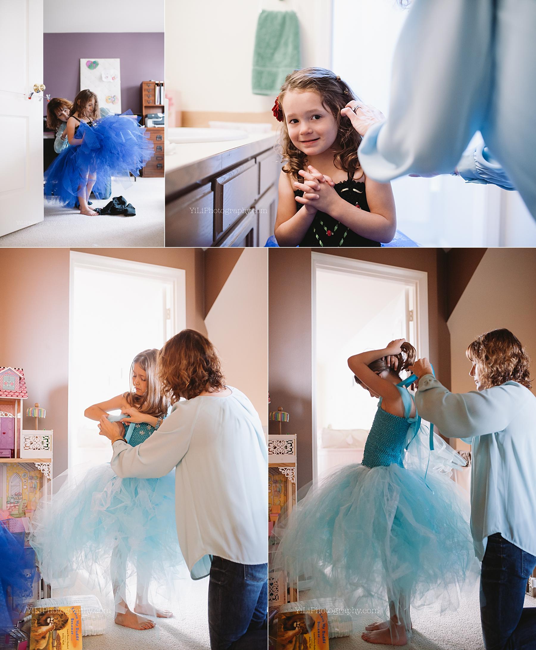 seattle frozen costume photos