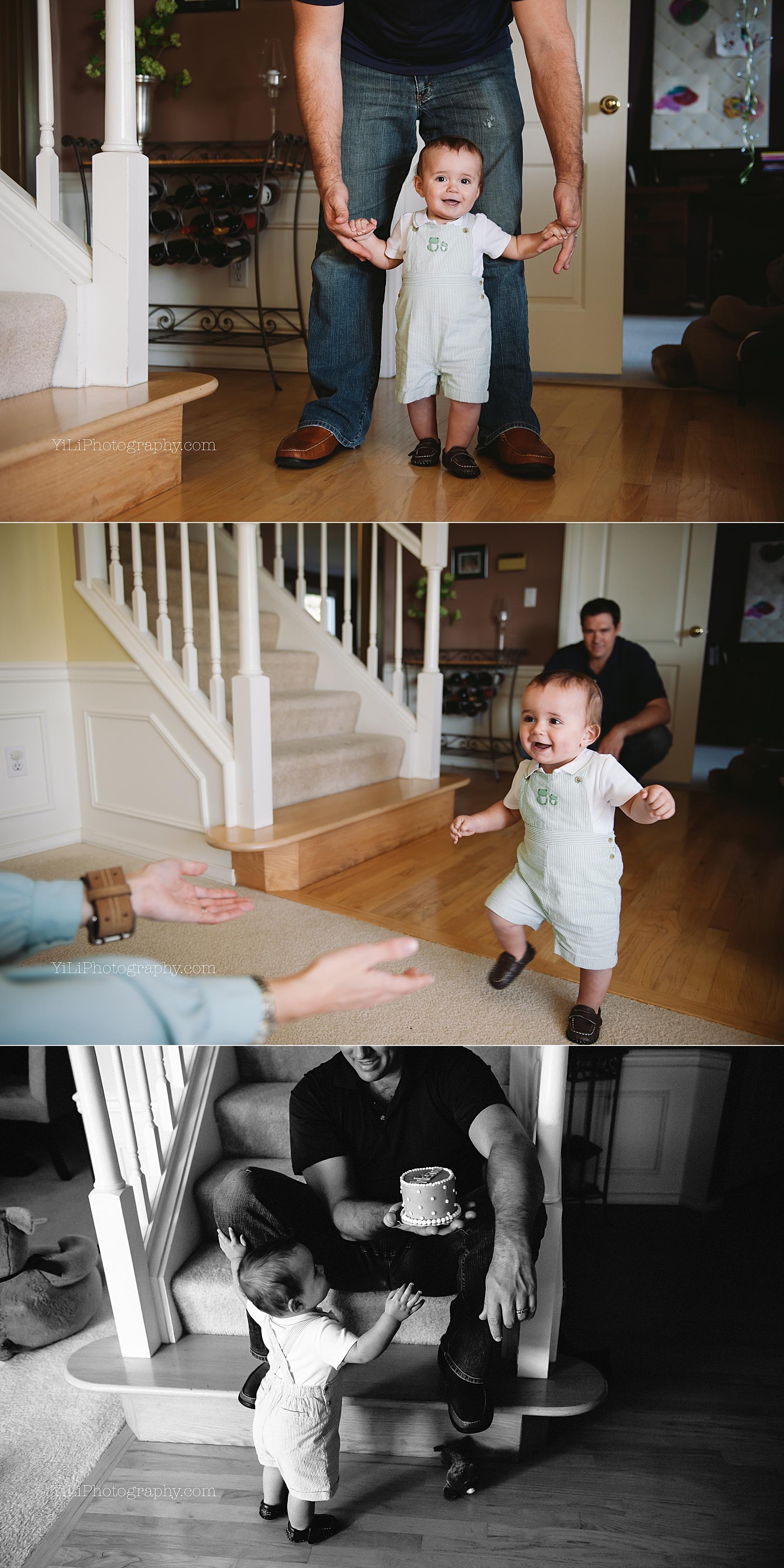 seattle documentary baby birthday photos