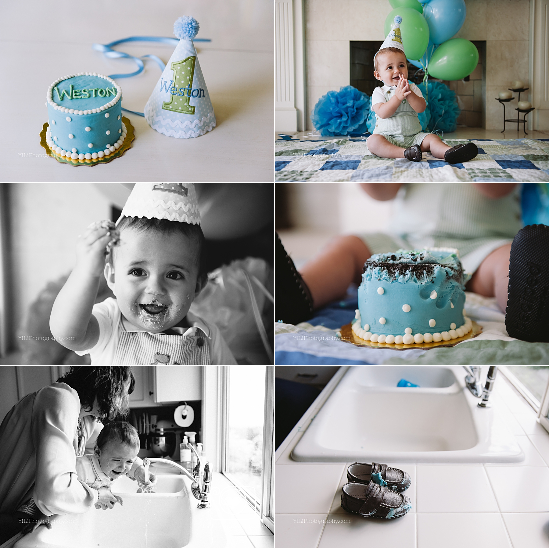 seattle cake smash photographer