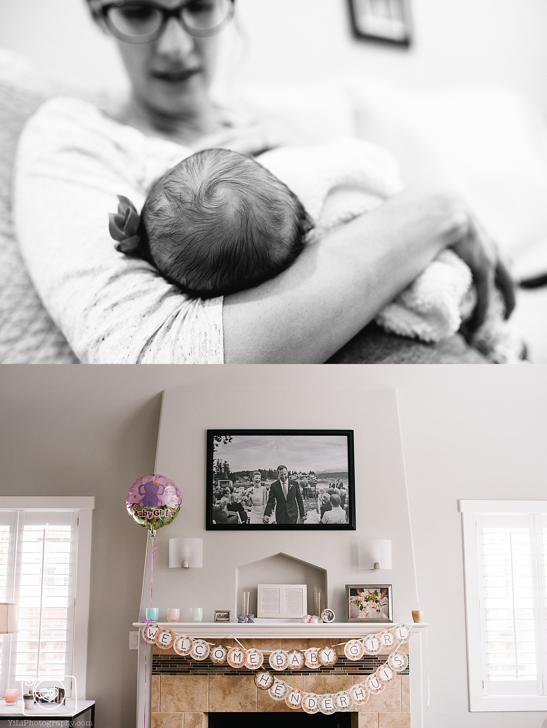 seattle documentary newborn photography