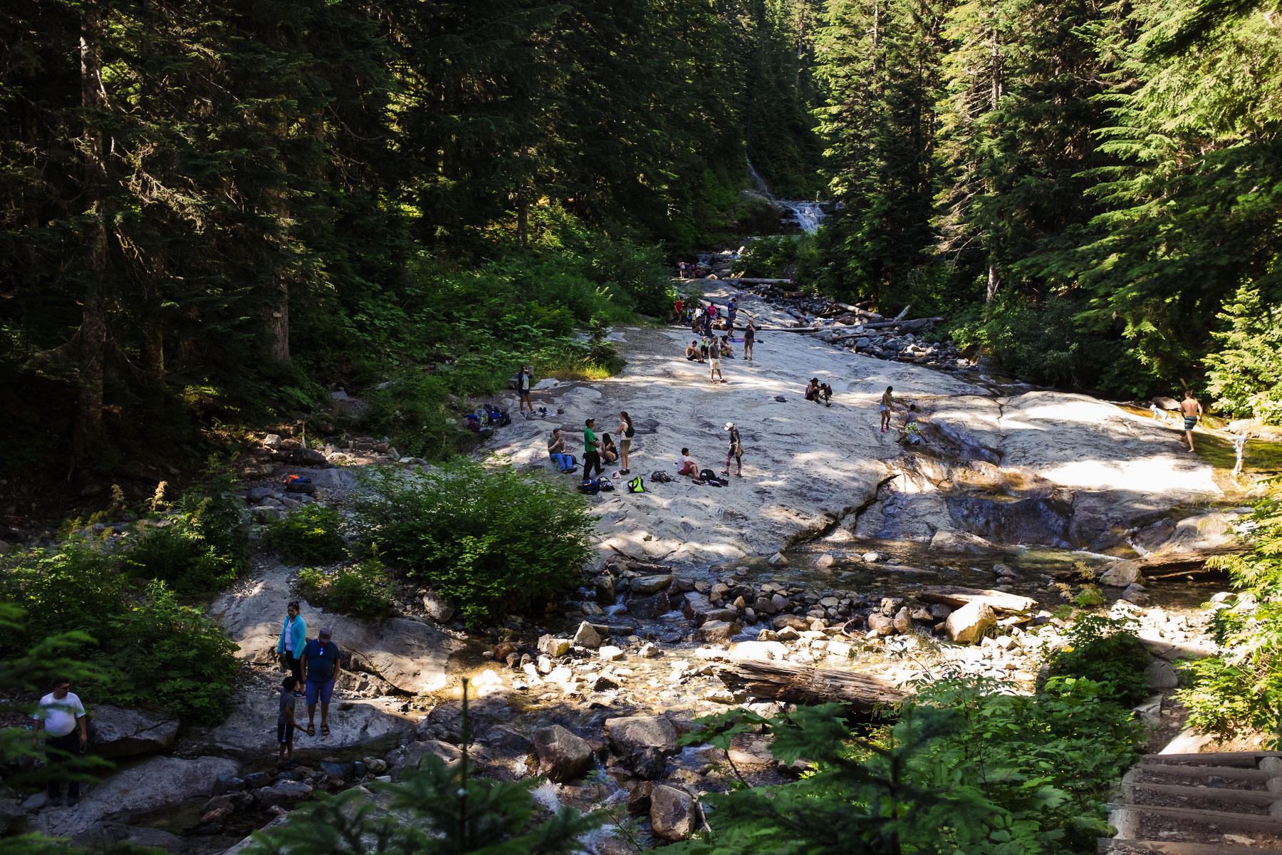 Denny creek waterslides seattle