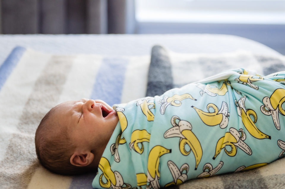 Oliver's newborn video